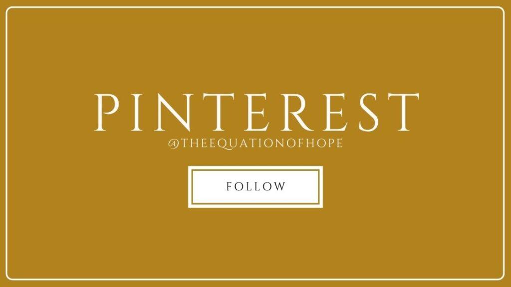 @theequationofhope pinterest