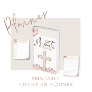christian printable planner